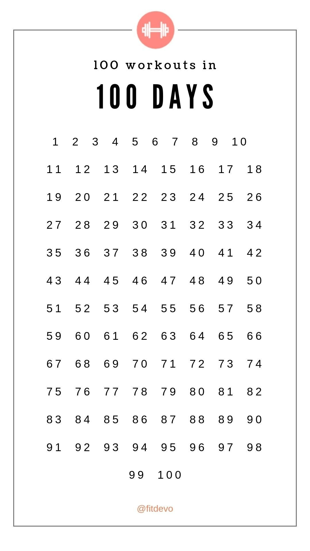 Remarkable 100 Day Countdown Calendar Printable In 2020