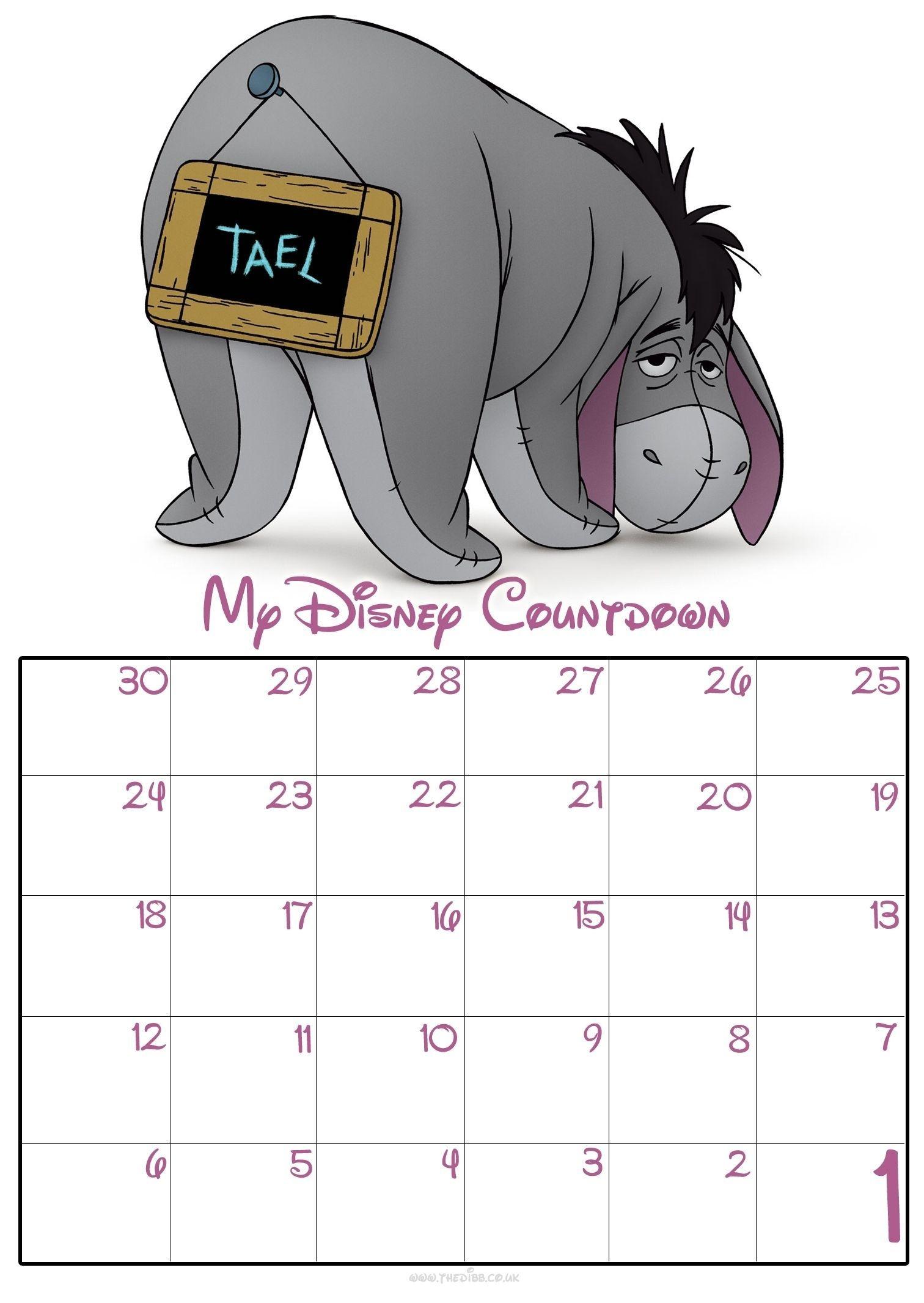 Remarkable Countdown Calendar For Desktop Free In 2020