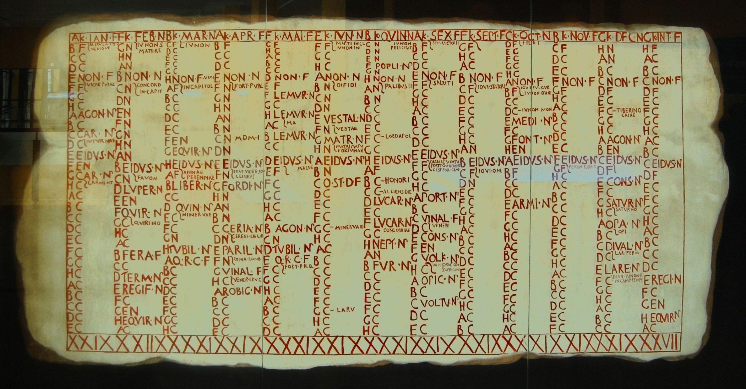 Roman Calendar Wikiwand