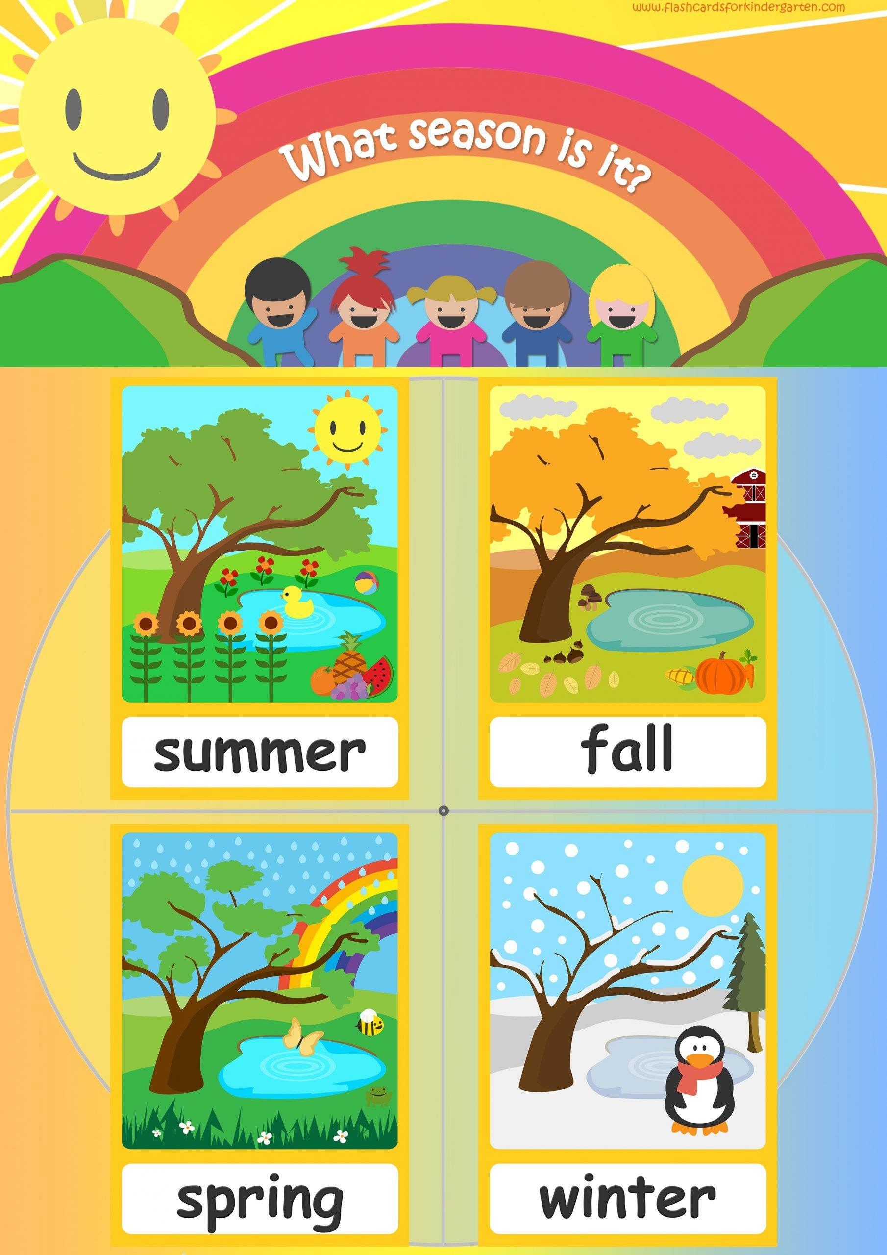 seasons flashcards teach seasons free flashcards & posters!