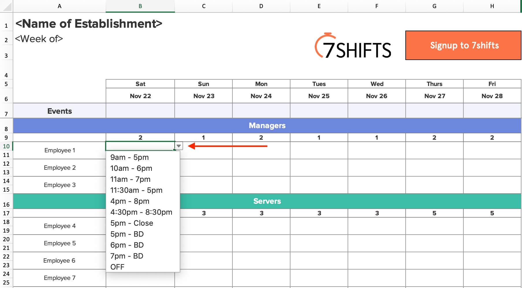 shift schedules: the ultimate how to guide | 7shifts