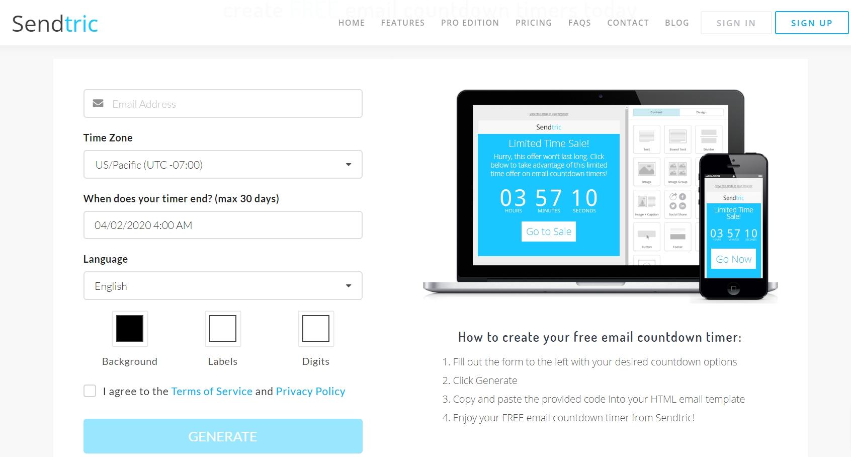 Test Drive: 5 Email Countdown Timer Tools | Sendpulse Blog