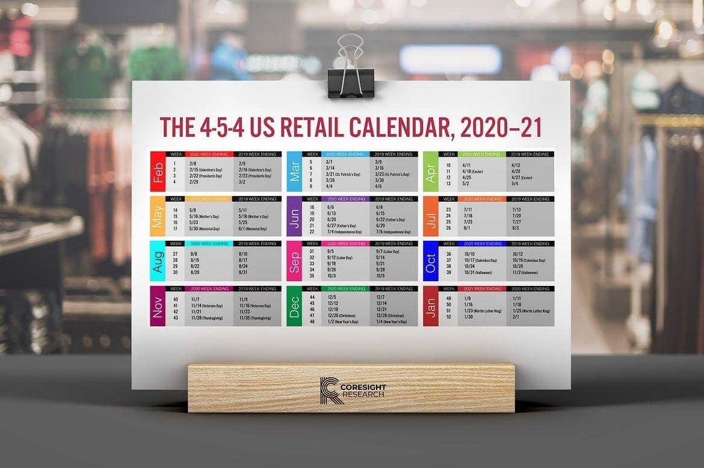 The 4 5 4 Us Retail Calendar, 2020–21 | Coresight Research