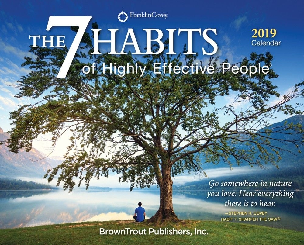 The 7 Habits Of Highly Effective People 2019 Box Calendar