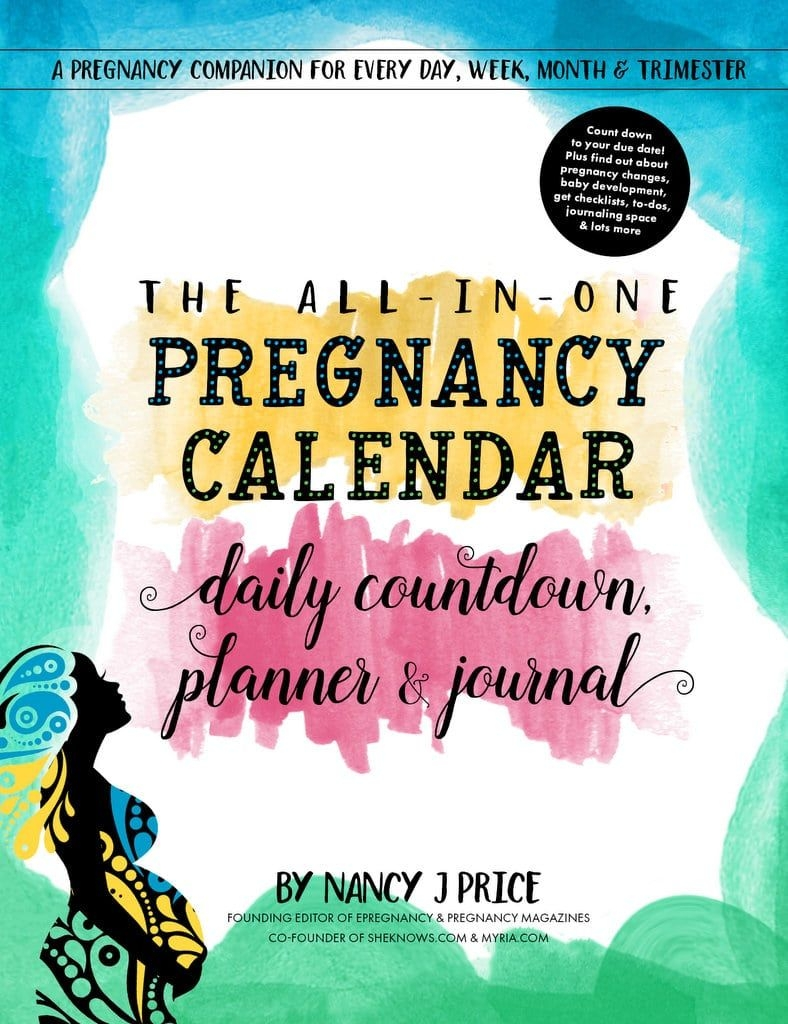 The All In One Pregnancy Calendar, Daily Countdown, Planner