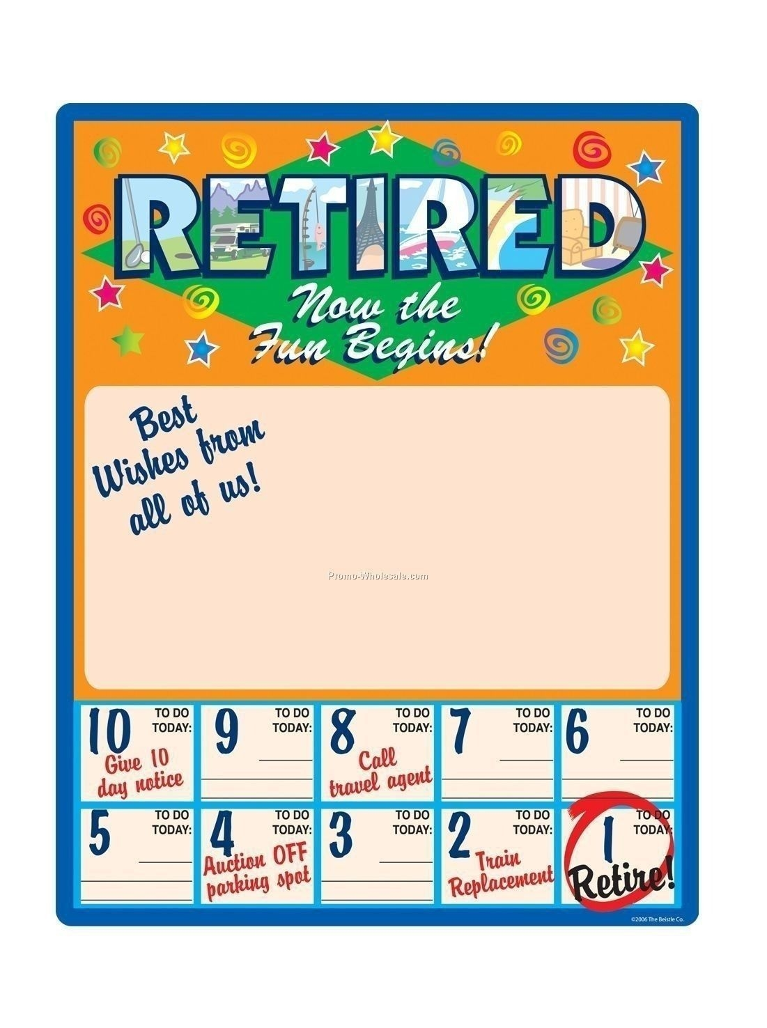 the free countdown calendar for retirement in 2020