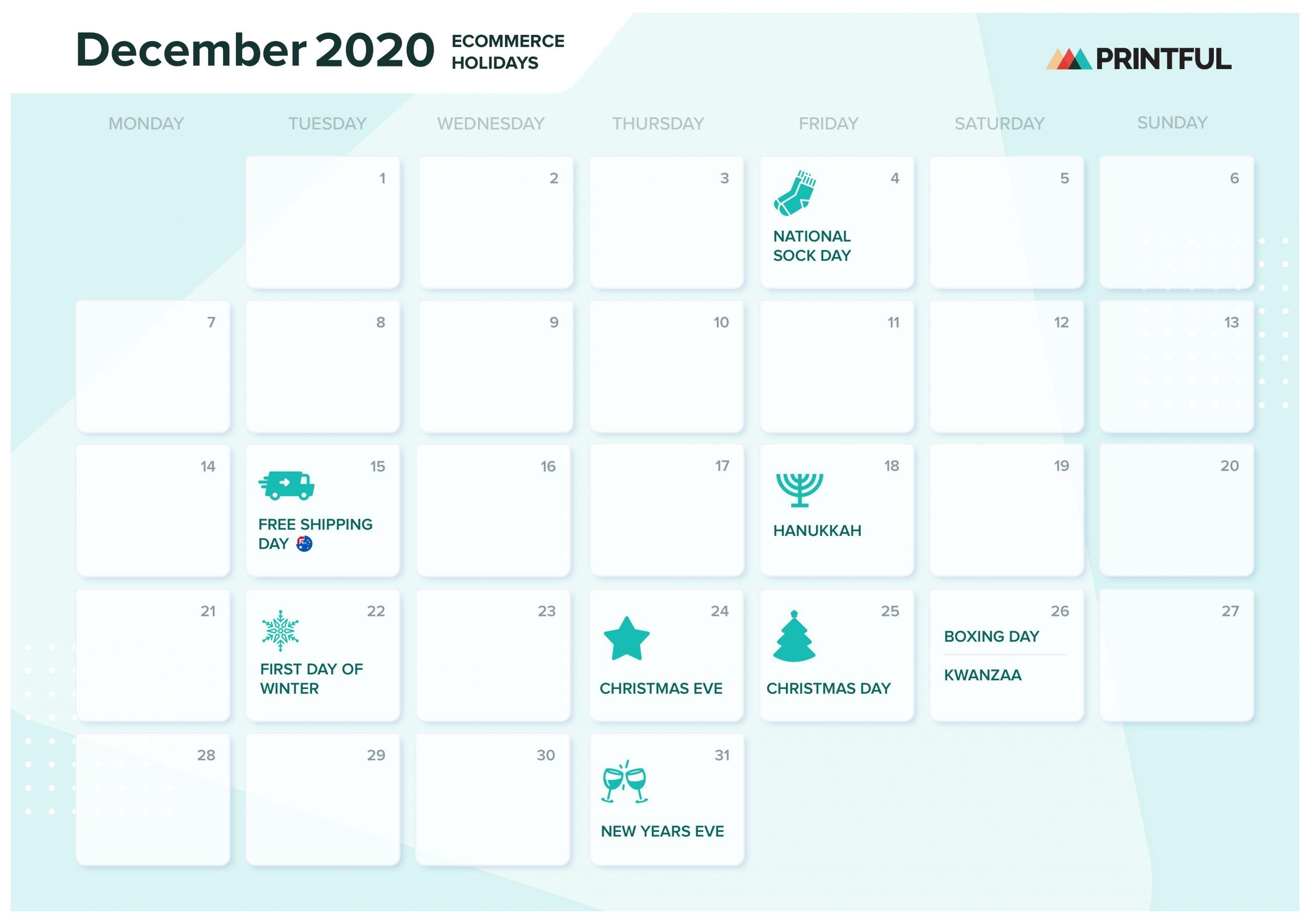 The Ultimate 2020 Ecommerce Holiday Marketing Calendar