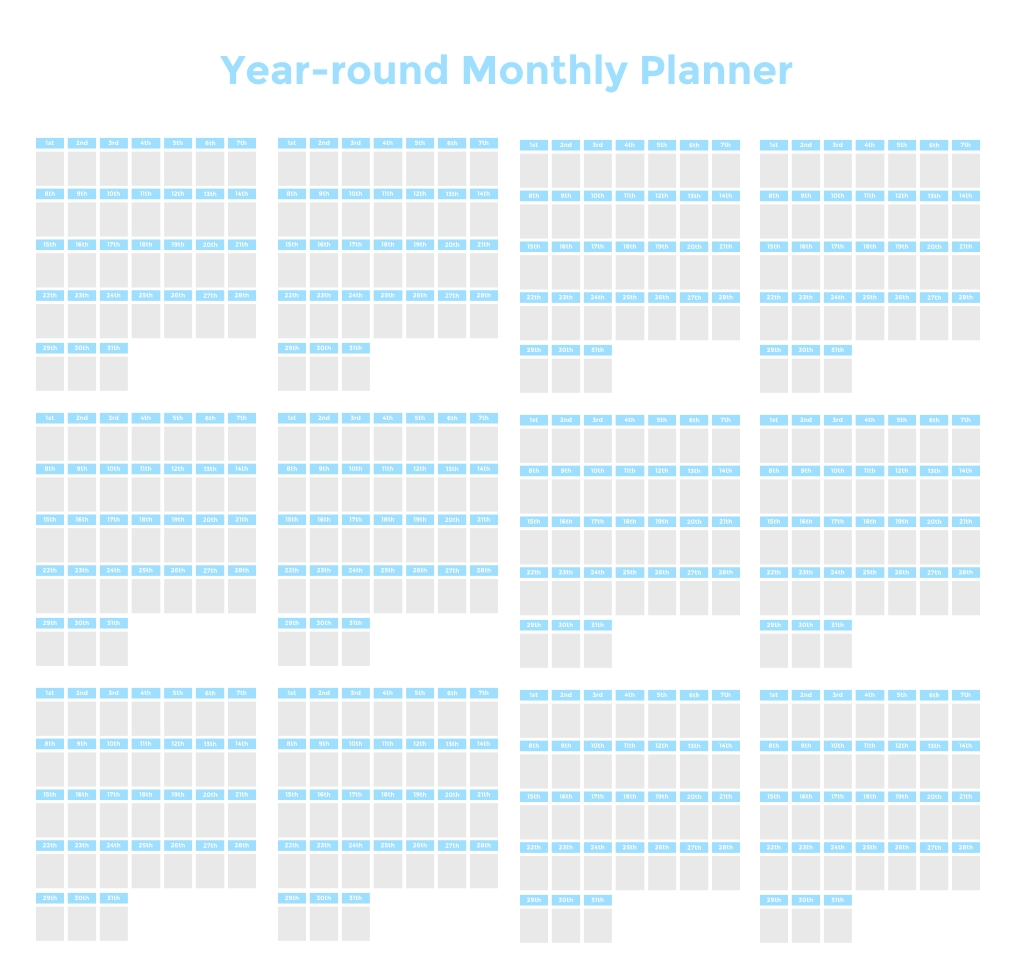 time blocking planner ( 9 free time blocking templates)