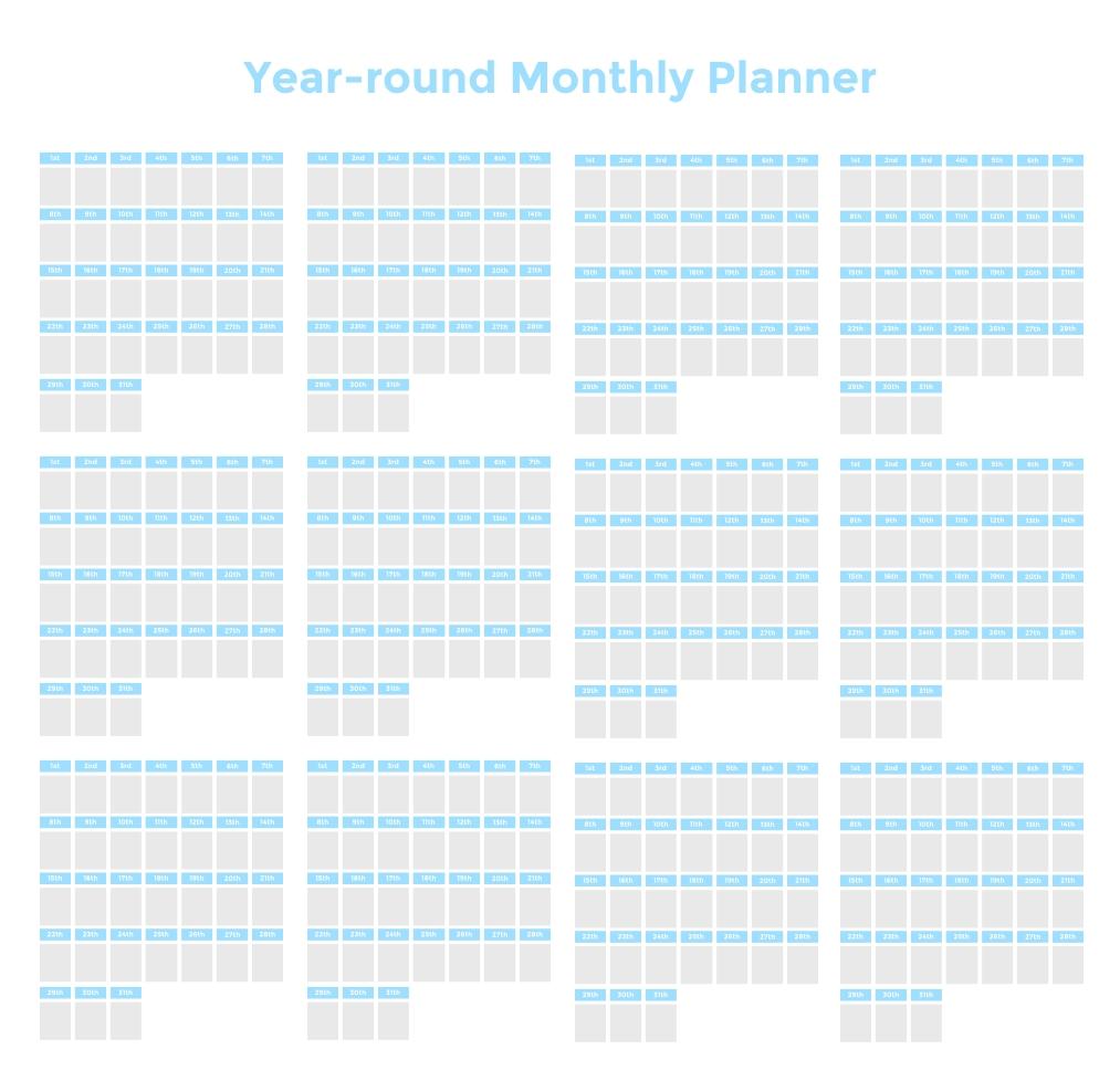 Time Blocking Planner ( 9 Free Time Blocking Templates)