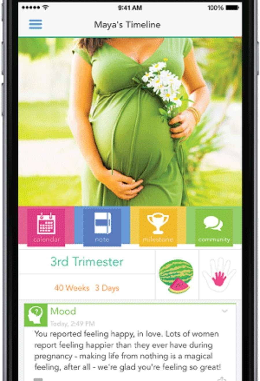 top 10 pregnancy apps to help you keep track of your growing