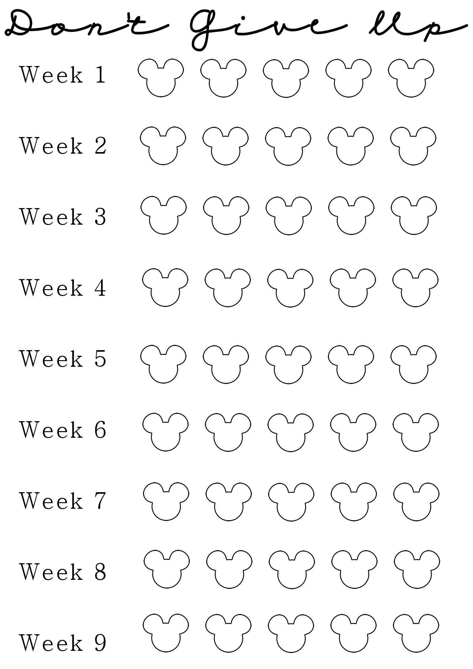 Top Printable Countdown Chart | Kevin Blog