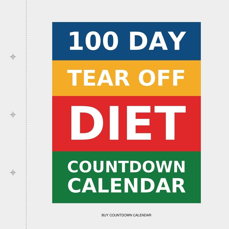 unique printable tear off countdown calendar | free