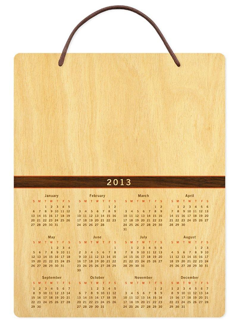 "(wall calendar) 8"" x 10"" • 5 designs"