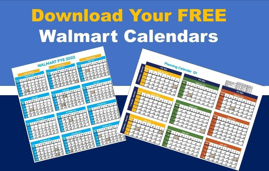 walmart fiscal year calendar: fye 2022 free download | 8th
