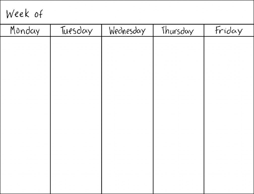 weekly calendar   İmages sites   weekly calendar printable