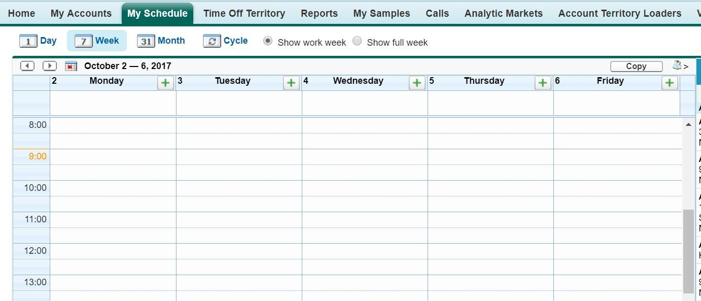 what controls if my schedule calendar is displayed with 12