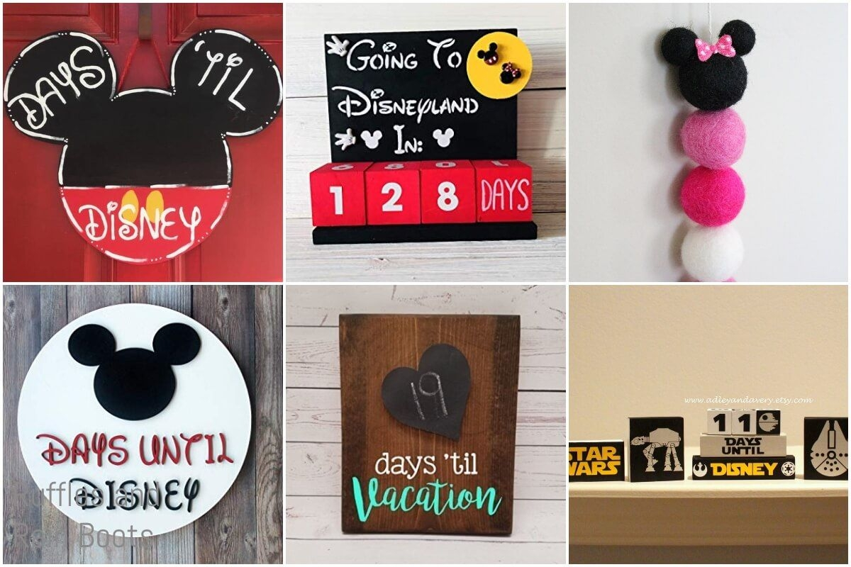 Wow, These Disney Vacation Countdown Ideas Are So Fun!