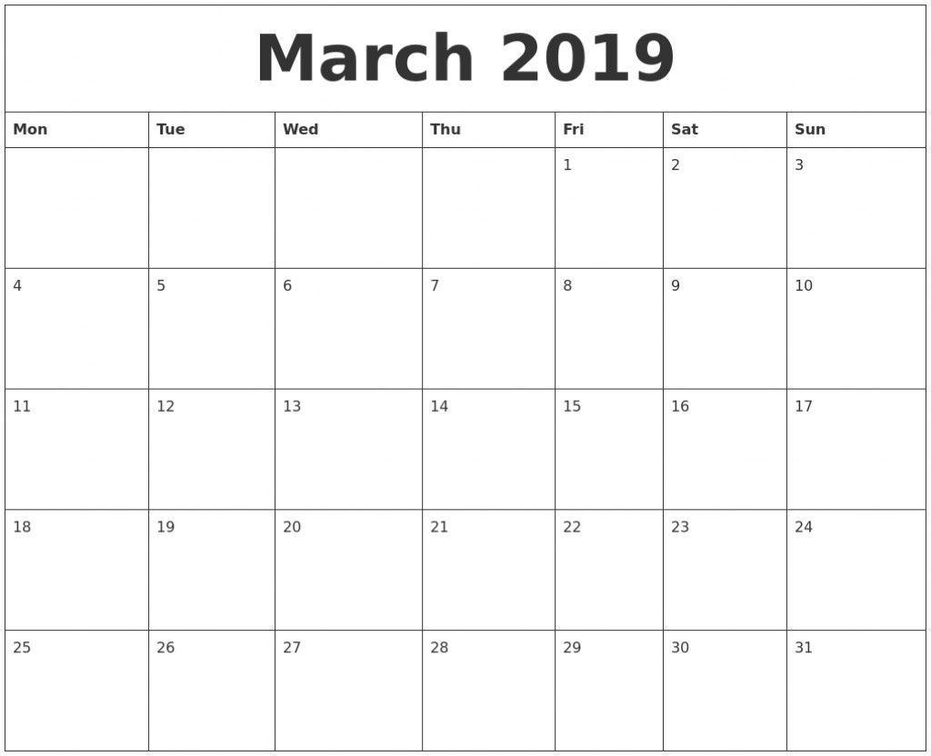 11×17 Calendar Template Word | Free Printable Calendar