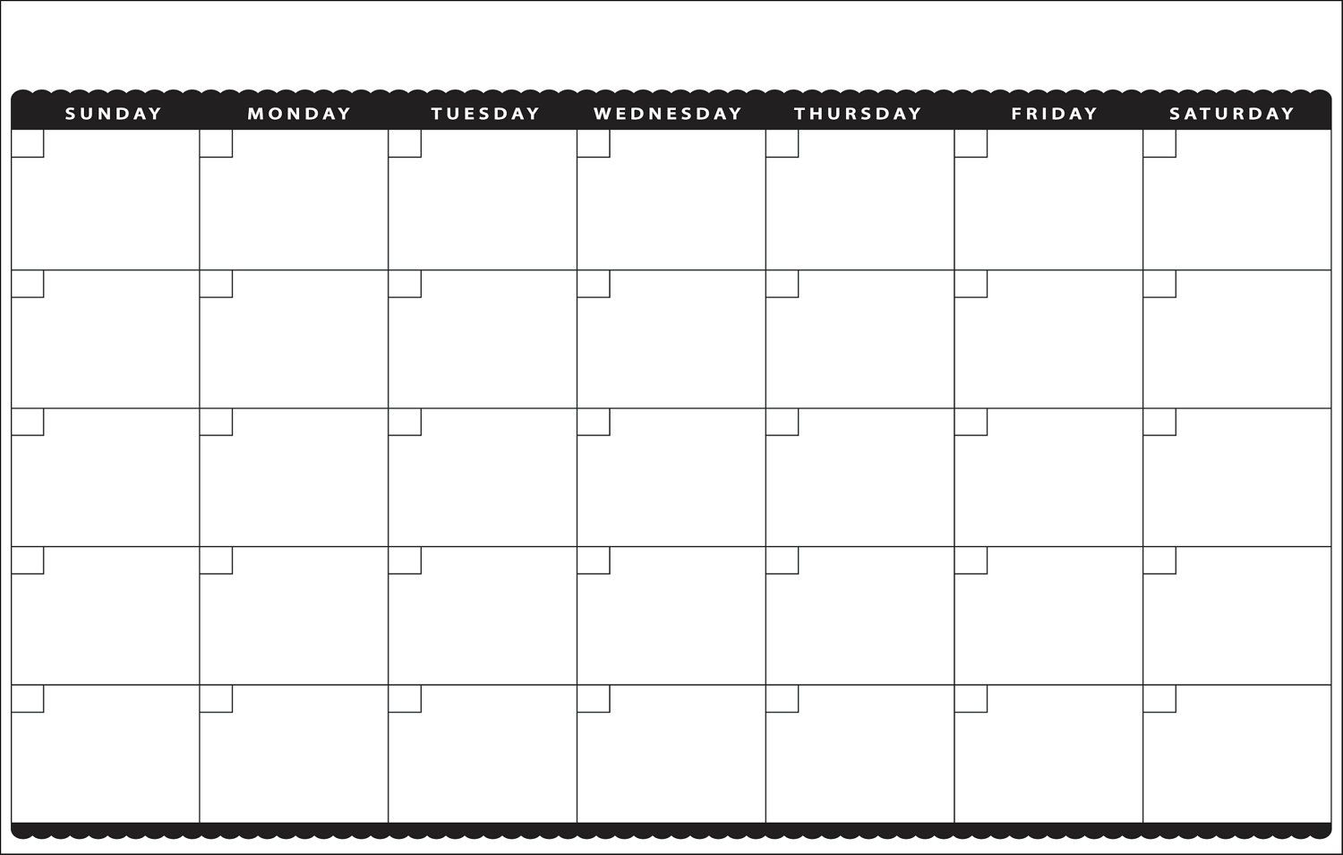 11×17 Calendar Template Word – Printable Year Calendar