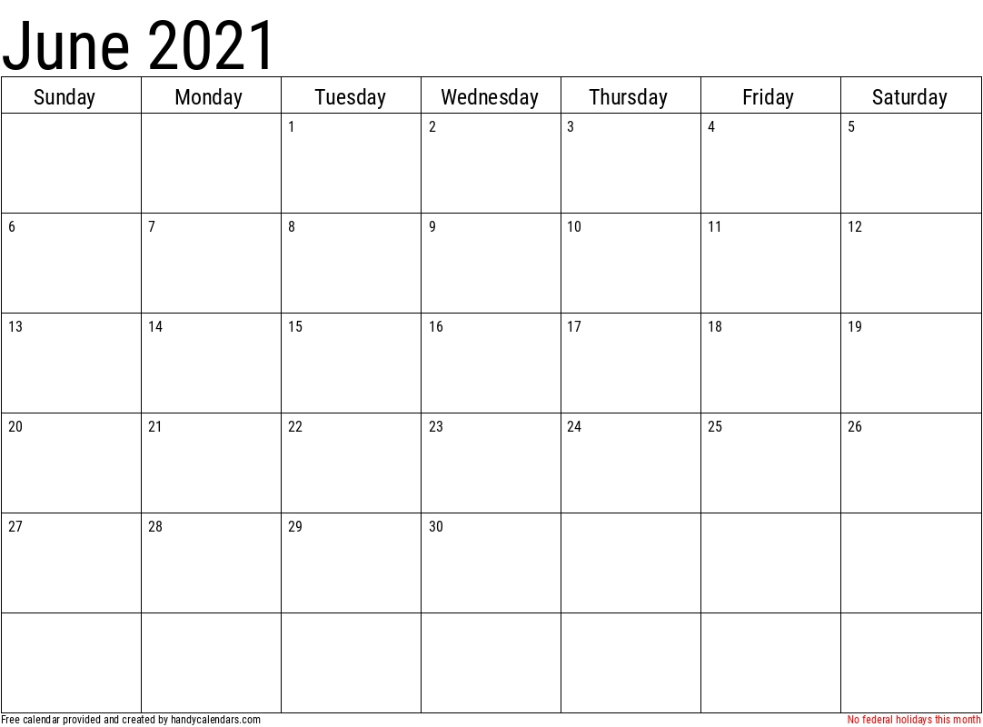 2021 june calendars handy calendars