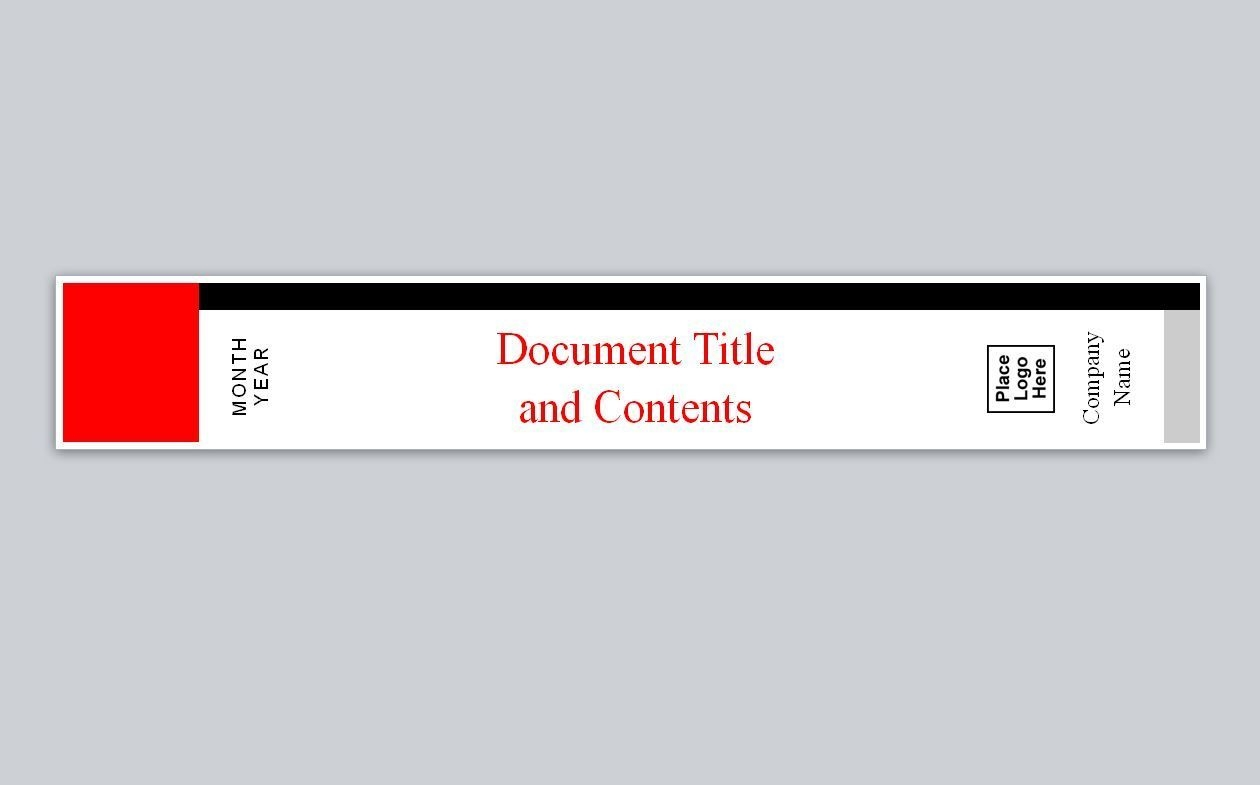 avery binder spine label template in 2020 | binder cover