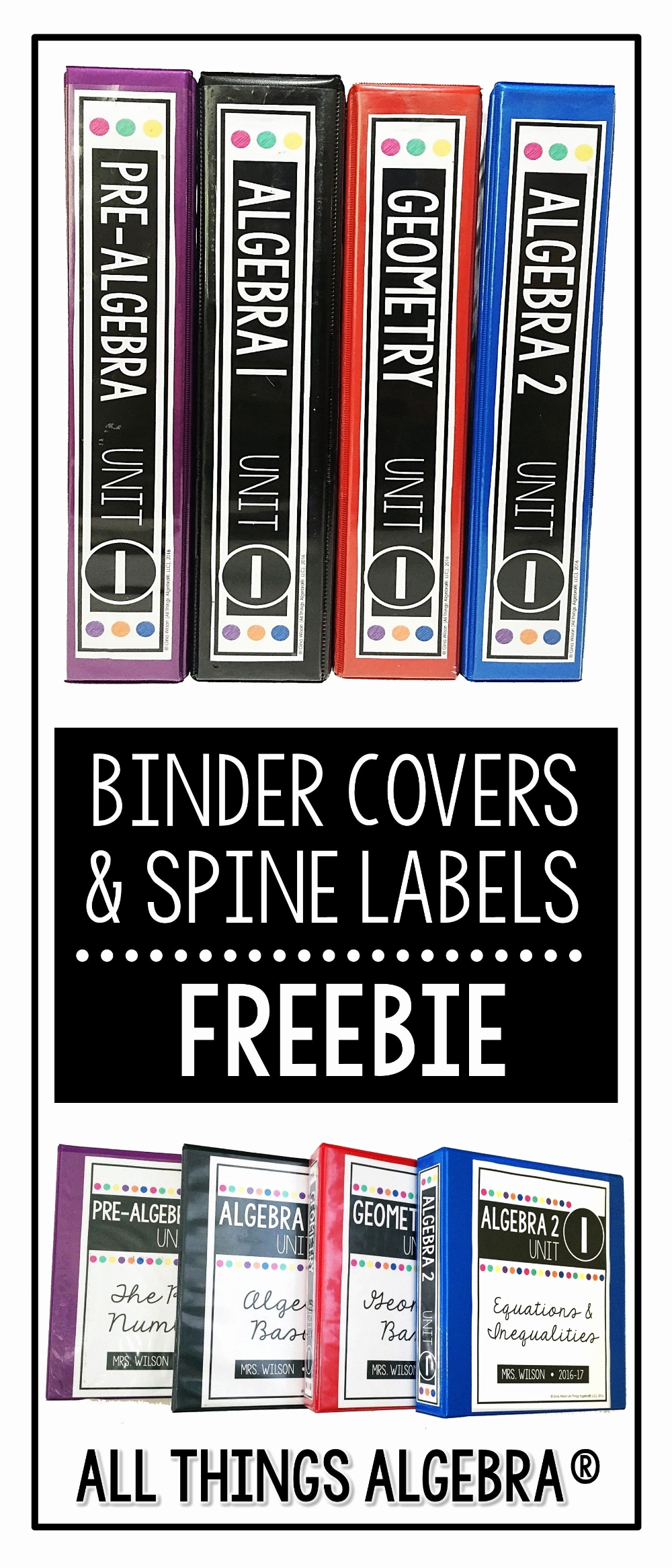 binder label stickers inspirational spine template of within