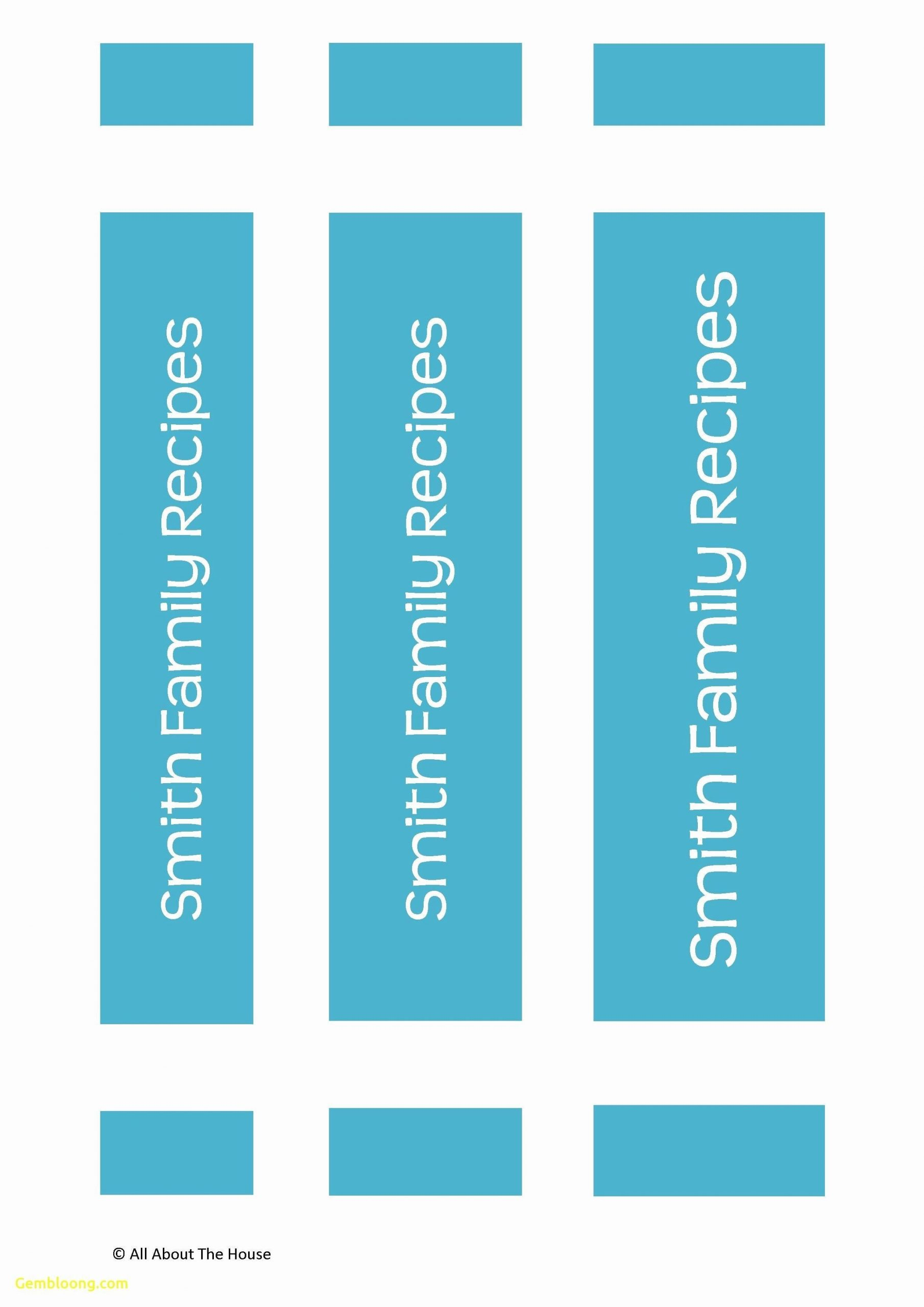 binder spine label template addictionary