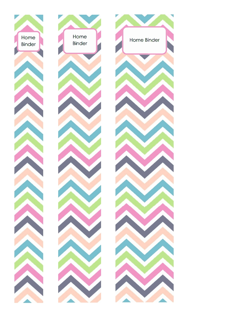 Binder Spines Brights Pdf Google Drive | Binder Labels