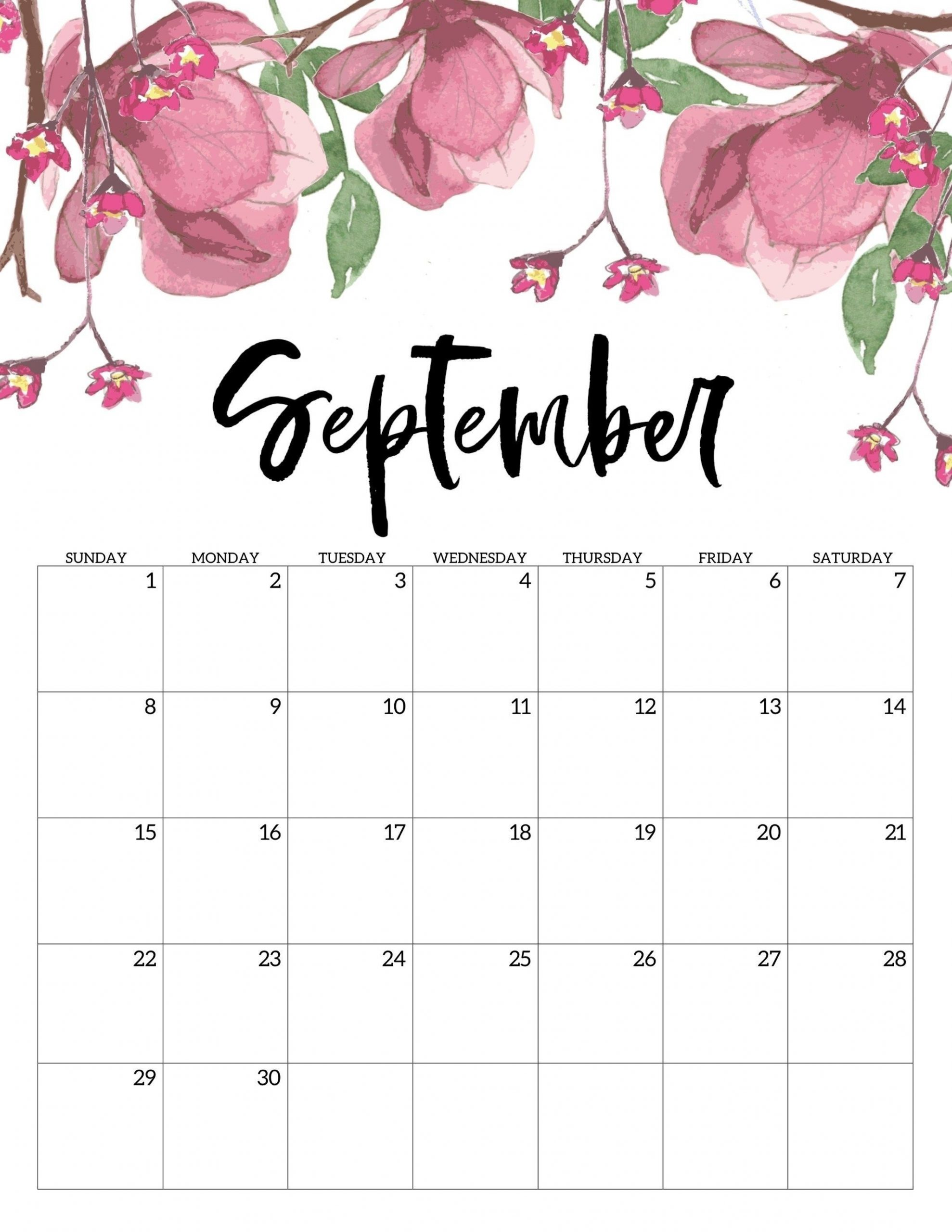 incredible 5x7 calendar templates free printable in 2020