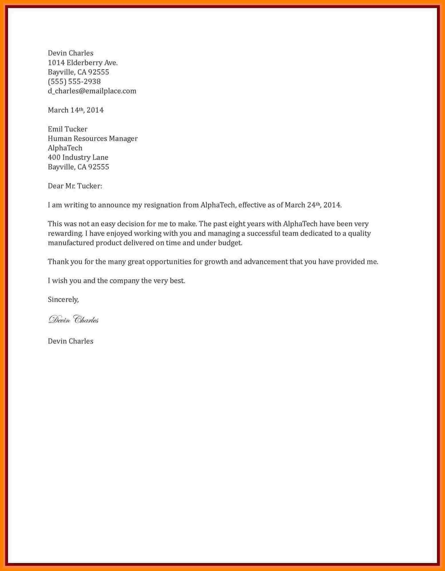 sample resignation letter one month notice lewisburg