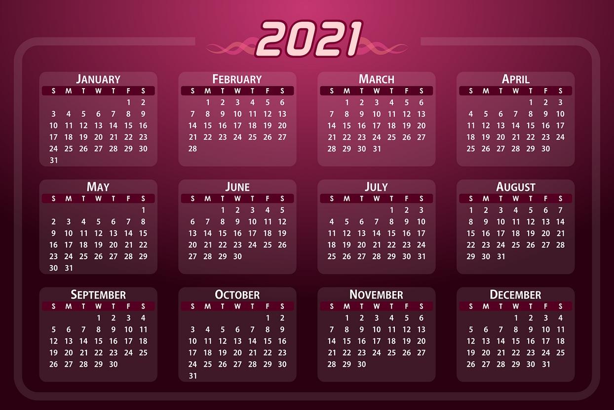 zile libere 2021 În ce lună au angajații cele mai multe