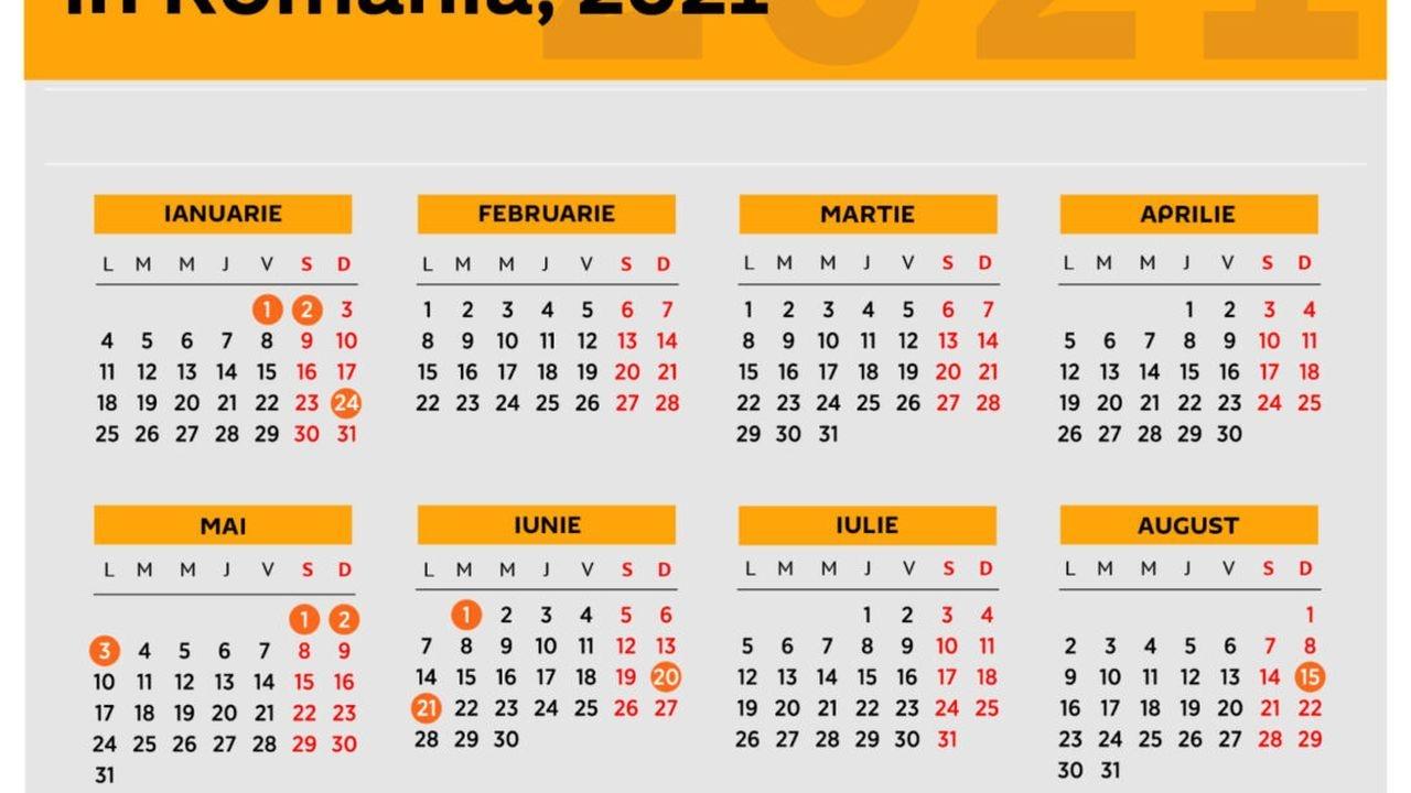 Zile Libere 2021 S A Anunţat Calendar Sărbători Legale 2021