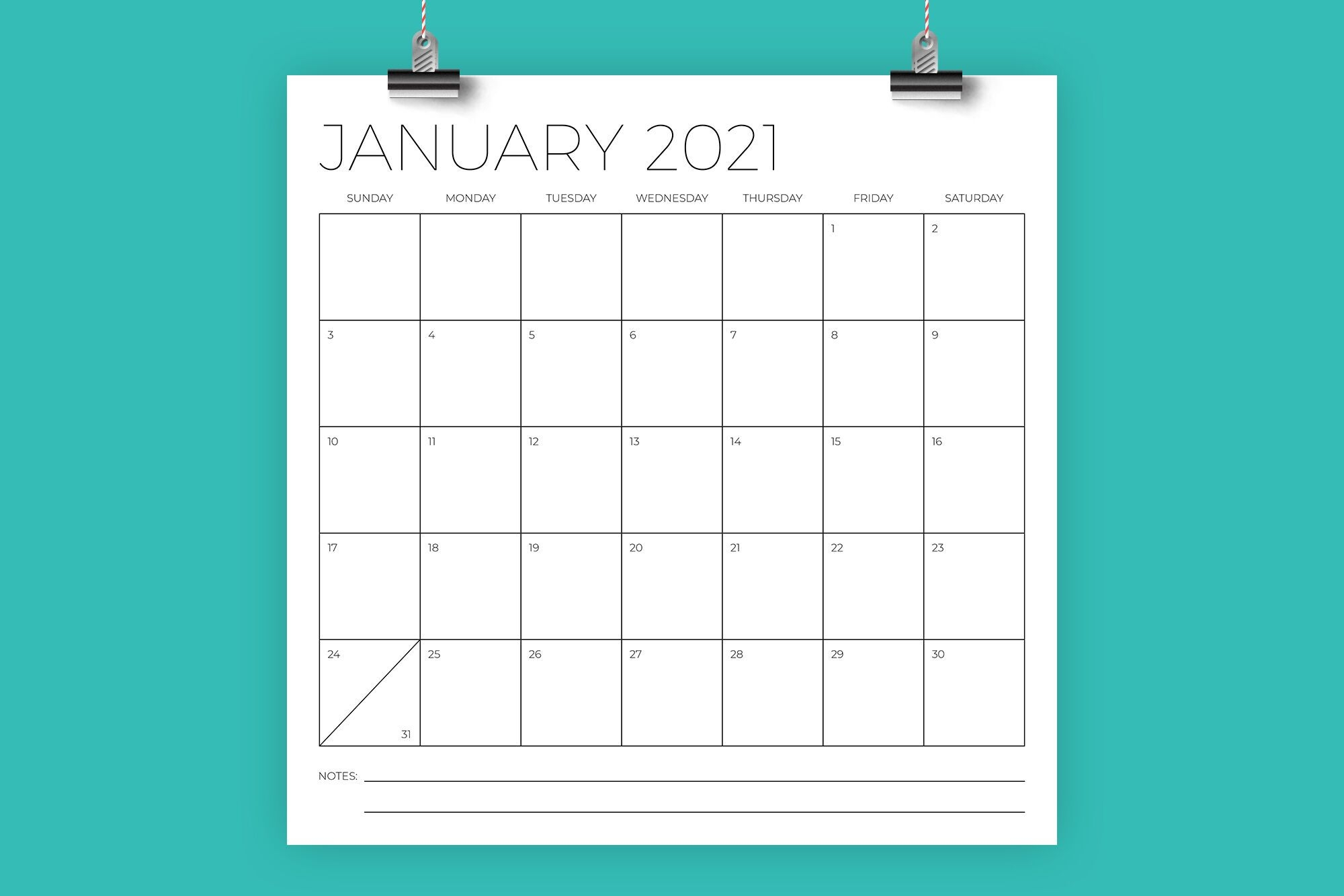 12 X 12 Inch Minimal 2021 Calendarrunning With Foxes