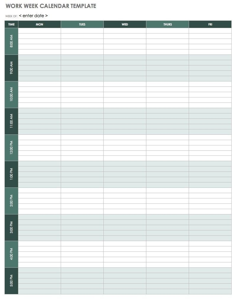15 minute schedule printable template template calendar