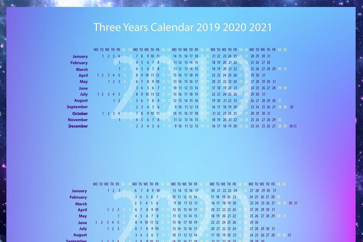 20 Zodiac Calendar 2021 Free Download Printable