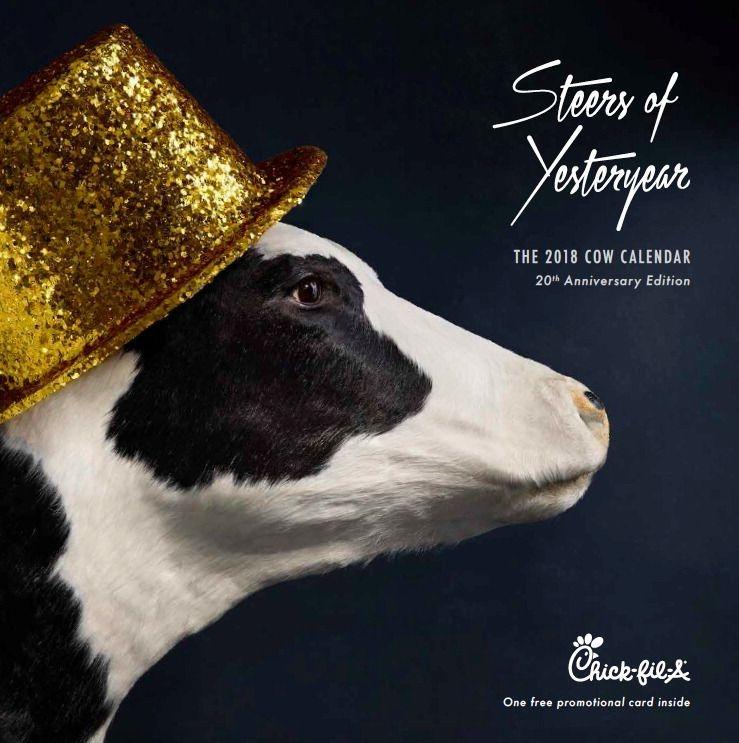 2018 cow calendar   calendar, cow, today calendar