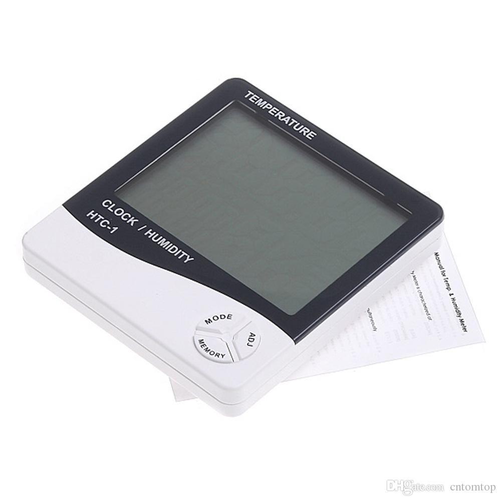 2019 digital thermometer hygrometer clock temperature