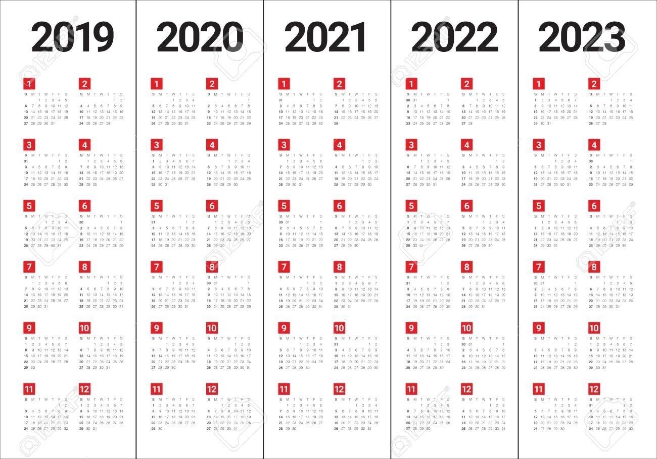 2020 2021 2022 2023 Calendar Calendar Inspiration Design