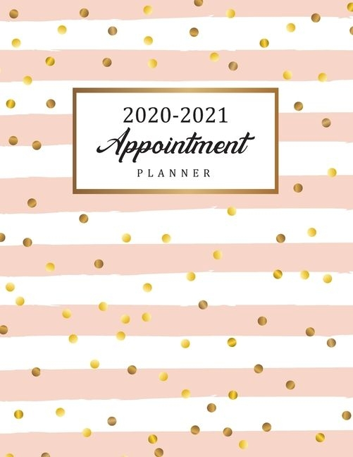 2020 2021 appointment planner : daily and hourly planner