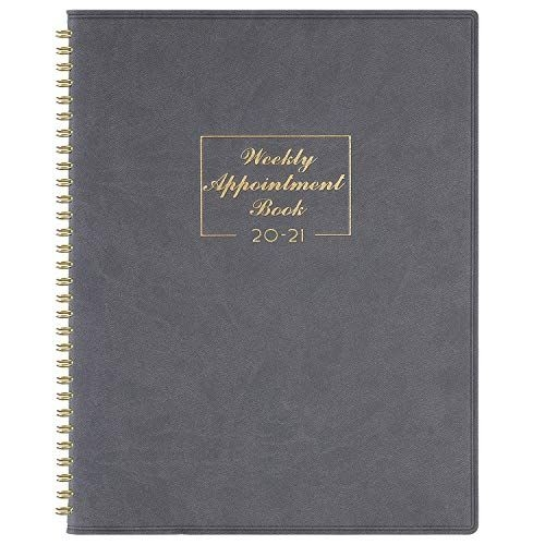 2020 2021 weekly appointment book & planner 2020 2021