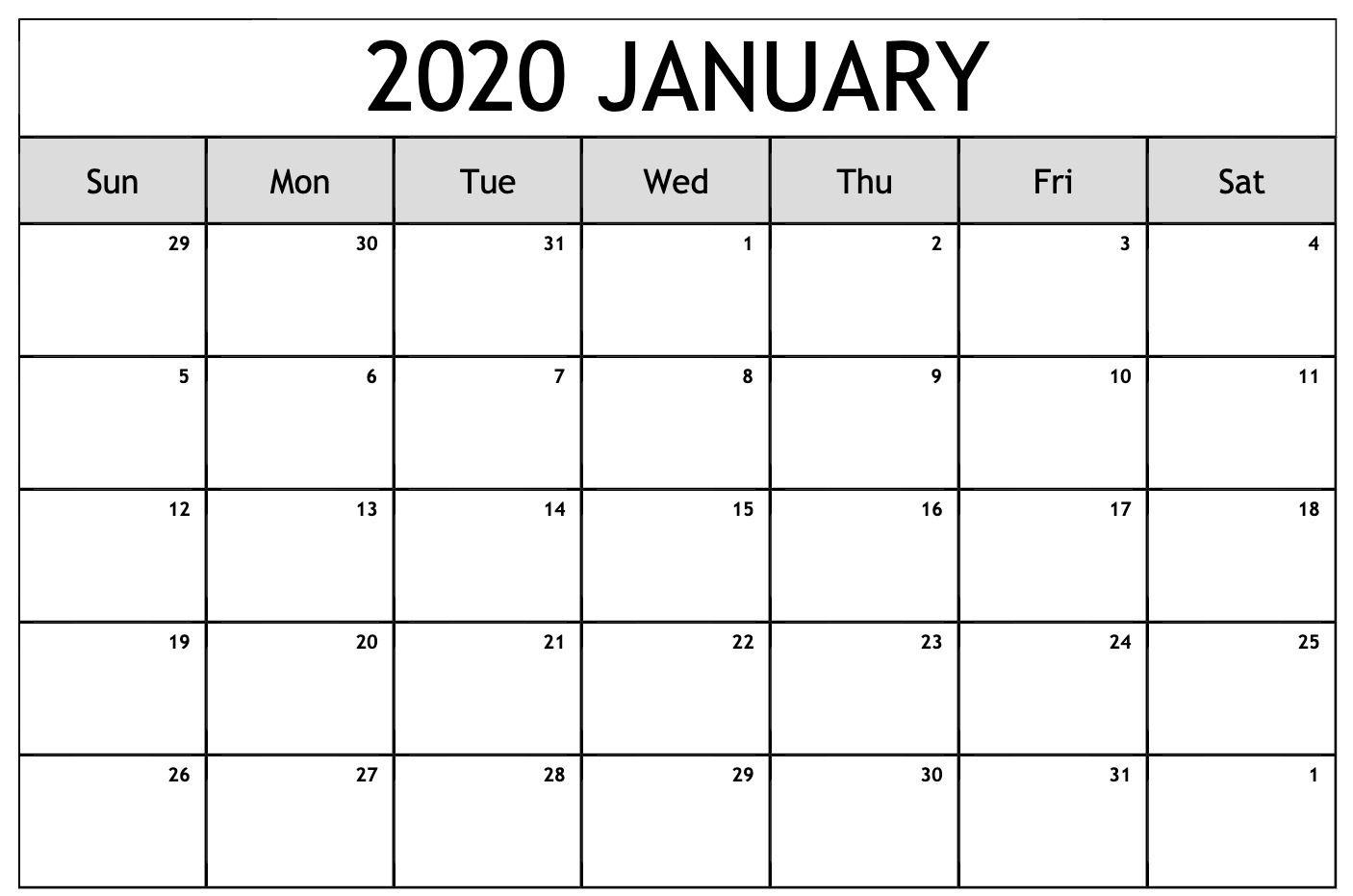 2020 calendar you can edit | calendar printables free