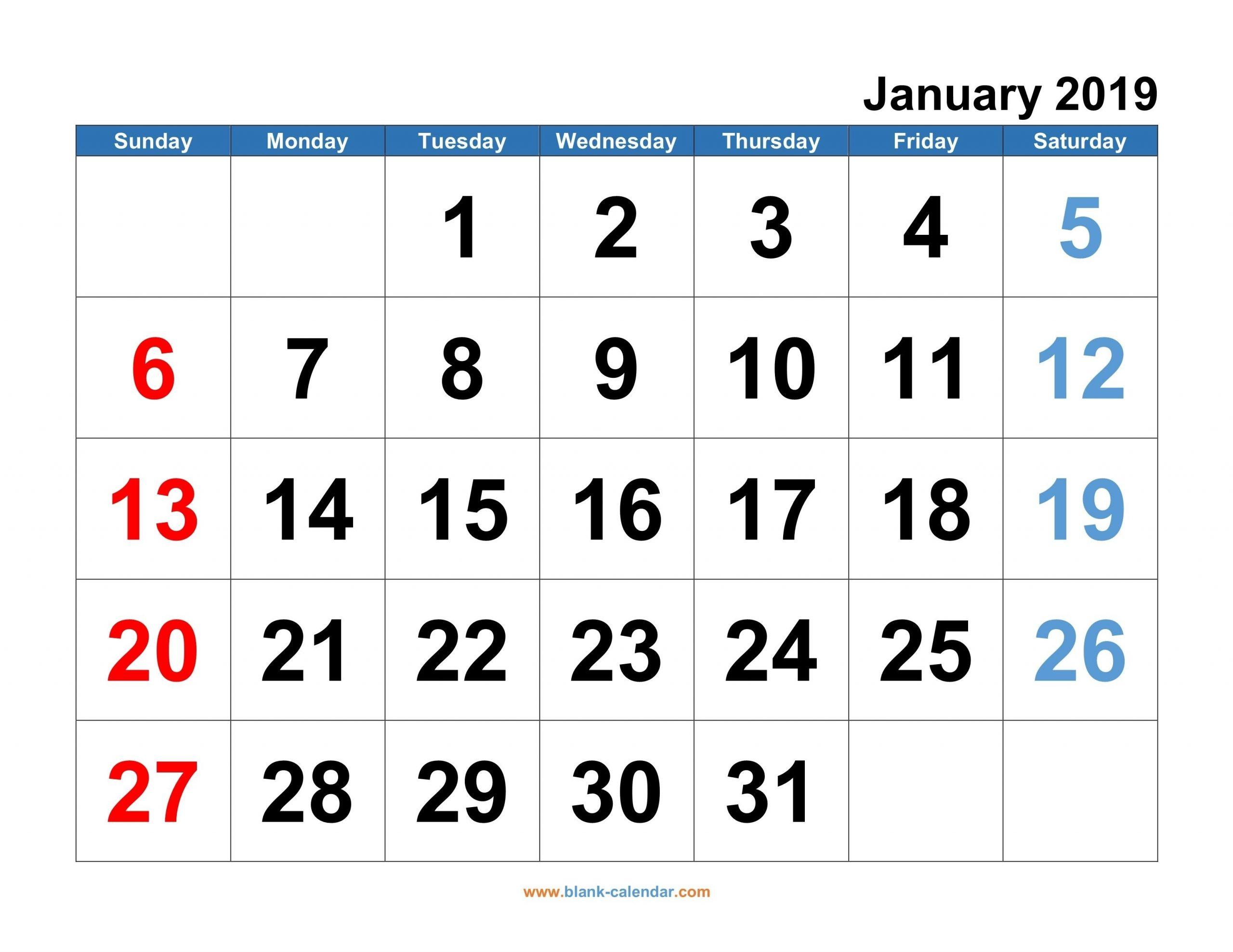 2020 free monthly printable calendar monday thru friday