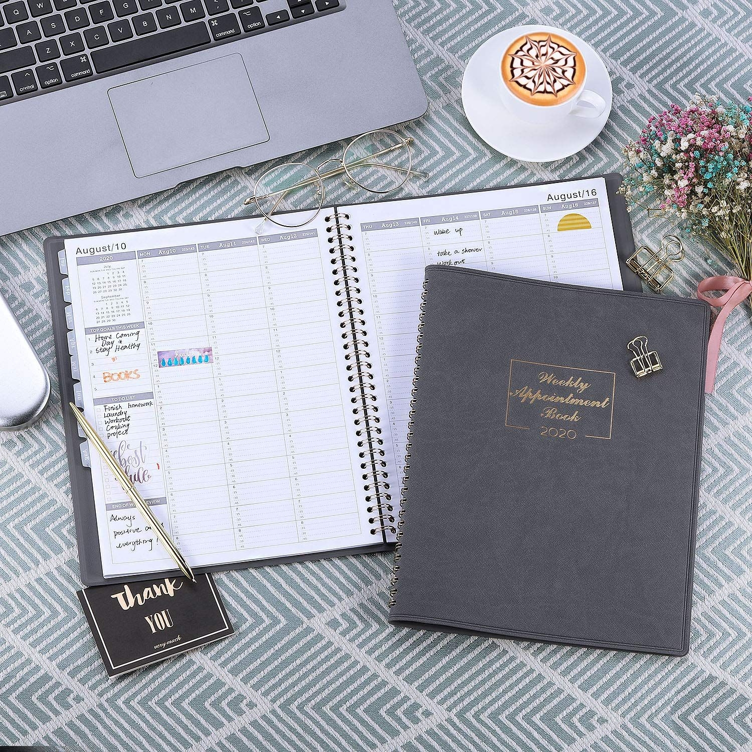 2020 Weekly Appointment Book & Planner 2020 Daily Hourly