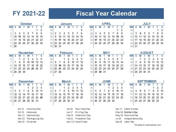 2021 22 calendar