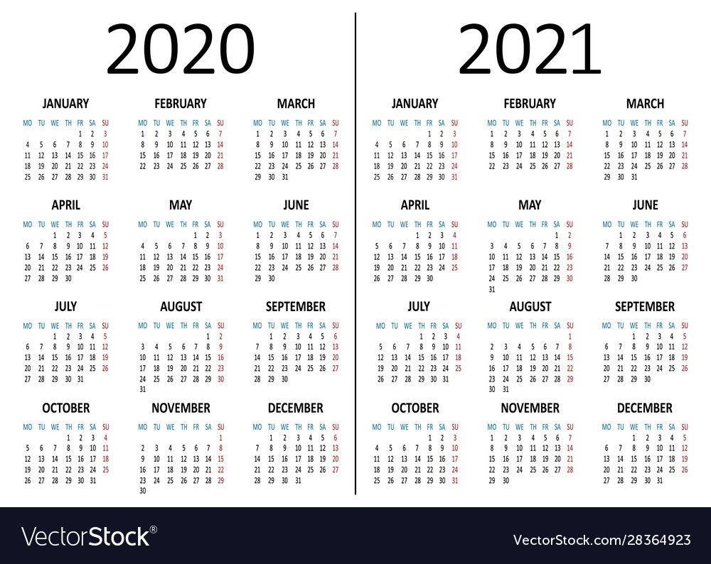 2021 6 month calendar staring on monday example calendar