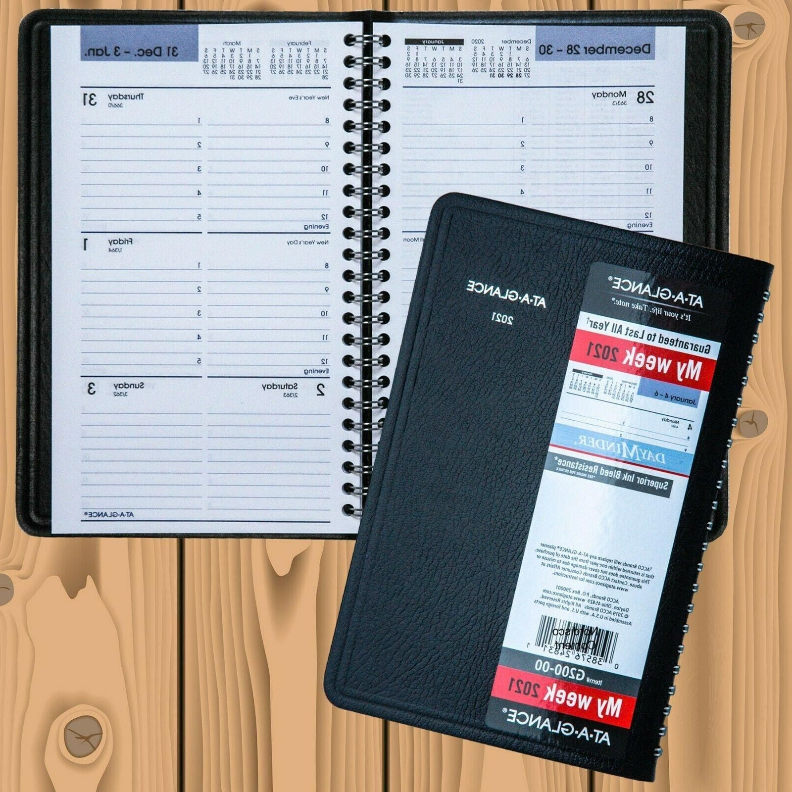 2021 At A Glance Dayminder G200 00 Weekly Appointment Book