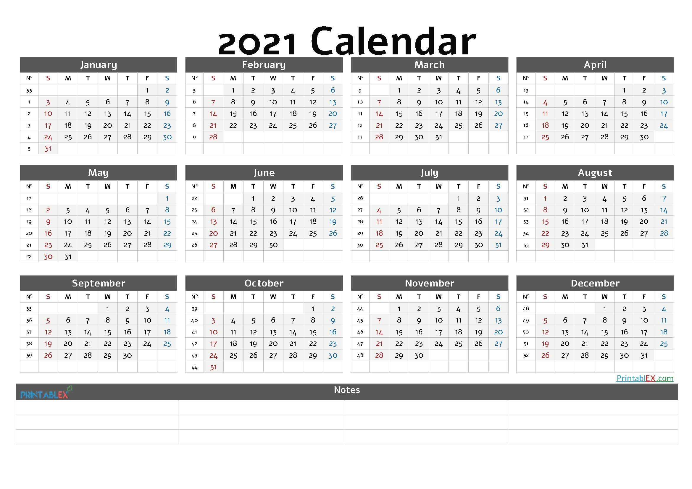 2021 calendar in weeks | calendar 2021