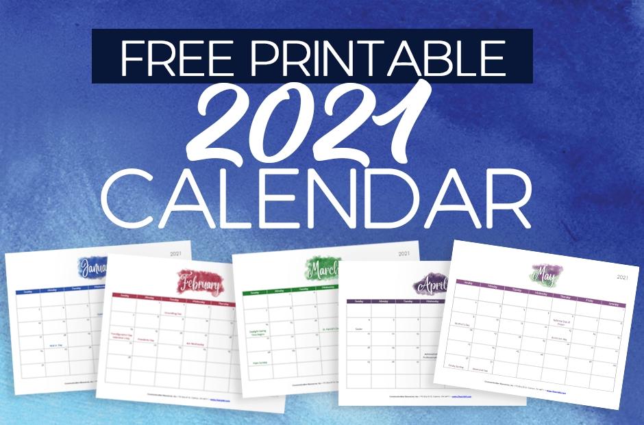 2021 free printable calendar for churches   churchart blog