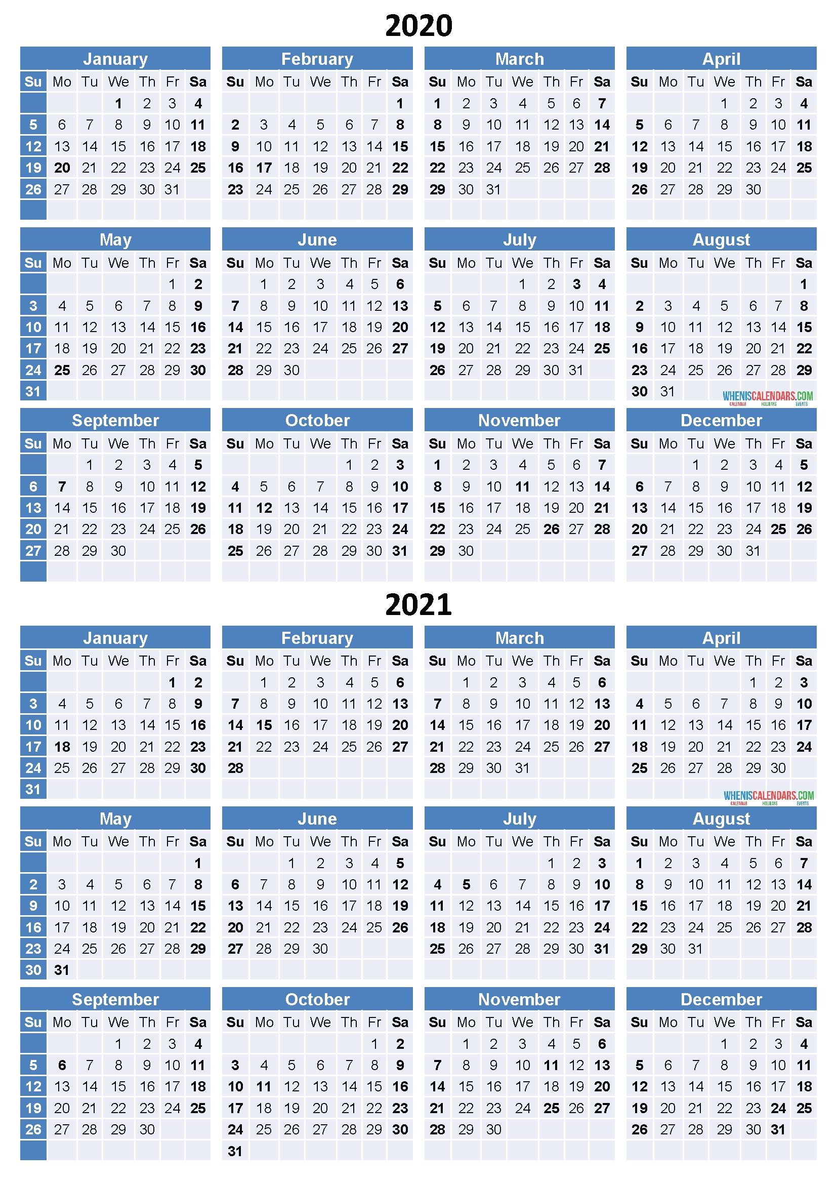 2021 monthly calendar printable word free printable 8