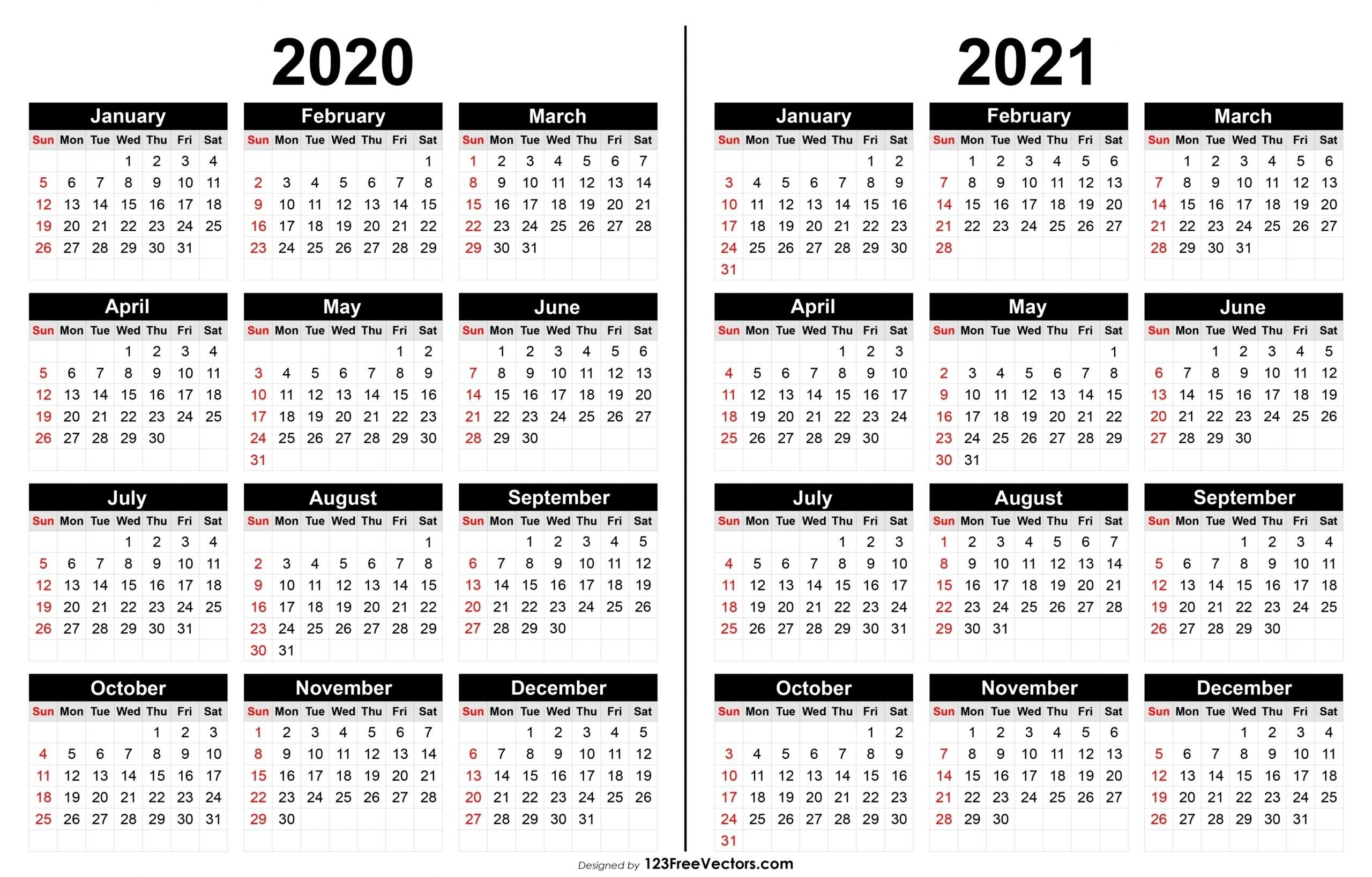 2021 print free calendars without downloading | calendar